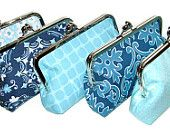 Bridesmaid Clutches Bridal Party Gift Customize by cutiegirlie