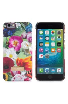 Free shipping and returns on Ted Baker London Floral iPhone 6 Plus & 6s Plus Case at Nordstrom.com. Vibrant floral patterns and an etched logo plate add signature sophistication to a hard-shell iPhone case.