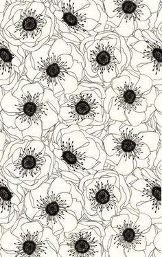 black and white art print #handmade