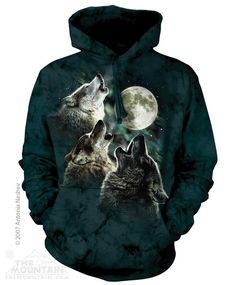 THREE WOLF MOON CLASSIC HOODIE BY THE MOUNTAIN®
