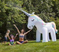 Huge Inflatable Unicorn Water Sprinkler