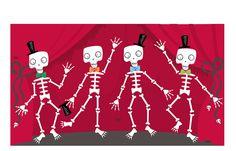 https://flic.kr/p/5rVhmm   Dancing-Skeletons
