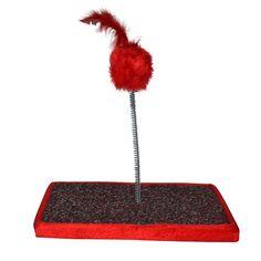 Brinquedo Em Carpete Vermelho São Pet - Meuamigopet.com.br #cat #cats #gato #gatinho #bigode #muamigopet