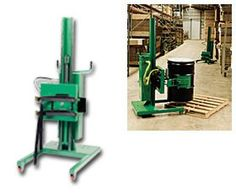 Roto Lift Straddle Style   can be used for MIXING or INVERTING barrels!!