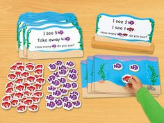 Read & Solve Word Problem Center at Lakeshore Learning