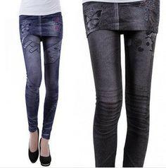 Fashion Hello Kitty Leggings Skirt Pants Butterfly Leggings for Ladies Elastic One Size
