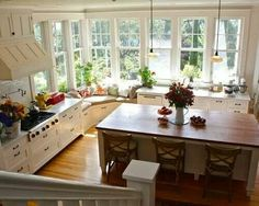 Living kitchen room