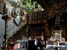 Hidden Restaurants Worth the Hunt- THE SECRET GARDEN AT THE WITCHERY BY THE CASTLE Edinburgh