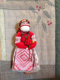 Russian cloth traditional doll.