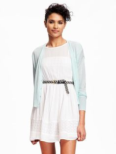 Relaxed Hi-Lo Cardi for Women Product Image