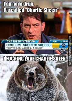 Called Charlie Sheen - http://controversialhumor.com/called-charlie-sheen/