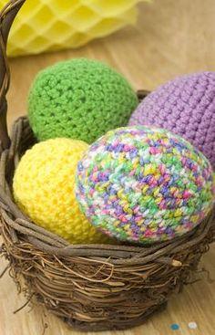 Free Easter Eggs Crochet Pattern