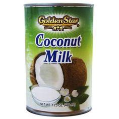 Golden Star Coconut Milk, 13.5 oz - Walmart.com