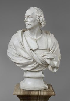 The subject of this marble bust, Gian Lorenzo Bernini, was the leading sculptor-architect in 17th-century Rome and one of the most famous European artists when Bernardo Fioriti carved this sculpture....