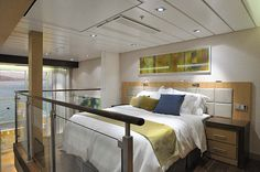 Loft Suite-Oasis of the Seas cruise ship.