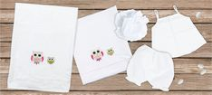 oil cloth set 6 pieces, ladopano,ladopana, λαδόπανα, set underwear baptism vaptism vaptisi Unique Christmas Gifts, Christmas Baby, New Year Gifts, New Baby Gifts, Etsy Handmade, Handmade Gifts, Baptism Favors, Christening Gifts, Etsy Business