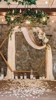 Wedding Arbors, Wedding Ceremony Arch, Wedding Scene, Dream Wedding, Wedding Wall, Wedding Flowers, Wedding Church, Table Wedding, Backdrop Wedding