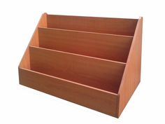 Wood Literature Rack Table Countertop Display Brochure Holder Swatch Showcas2903