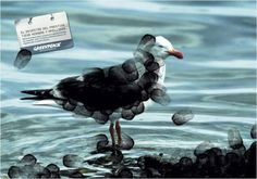 Greenpeace - Tiempo BBDO (Spain)  The Prestige disaster has name on it.
