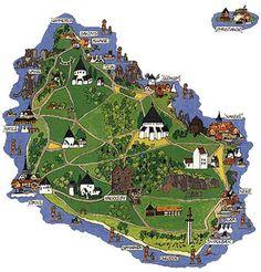 The small, pretty isle of Bornholm Denmark  @Modus Publicity Publicity Itinerandi