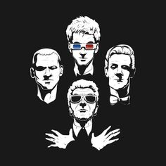 Check out this awesome 'Whovian+Rhapsody' design on @TeePublic!