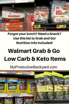 Walmart Grab and Go Low Carb Keto Items;Forgot your lunch? Need a snack? Here is Clean Eating Diet Plan, Eating Plans, Keto Recipes, Snack Recipes, Low Carb Keto, Walmart, Beef, Lunch, Snacks
