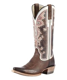 Take a look at this Weathered Brown Alameda Boot - Women on zulily today!