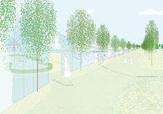 石上純也建築設計事務所 & MAKSが「Park Groot Vijversburg」のコンペで優勝 | DA