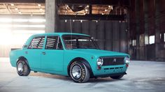 What happens when you mix Russian, Japanese and American car culture? Well, something like this. A Lada with a Skyline engine.