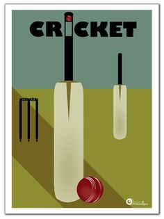 Art Deco Airline Vintage Posters Another Picture And Gallery About modern wall art prints : 3 Piece Canvas Wall Art Prints Cricket Art Print by Home Cricket Poster, Cricket Logo, Wall Art Prints, Fine Art Prints, Cricket Wallpapers, Cricket Sport, Sports Graphics, Sports Day, Body Hacks