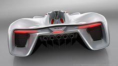 Meet SRT's 2,590bhp Vision GT - BBC Top Gear