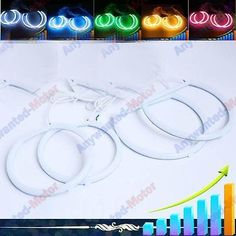 4 x cotton smd led #angel eyes halo #rings bulb lamp #light for bmw e36/e38/e39,  View more on the LINK: http://www.zeppy.io/product/gb/2/182174193448/