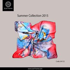 Be elegant in The Feast with our silk square scarf with Surrealism print. Available in 5 colors. blue fuchsia, orange, aquamarine, Havana. You can find it in our branches.  Check the summer new collection 2015 now at all #scarf_home stores at: Cairo Festival City Mall  City Stars Mall Mall of Arabia Cairo City Center Alexandria Porto Marina Gezieret El Arab تألقي في العيد من مجموعة الاسكارفات المميزة من سكارف هوم .. اكتشفي معانا في سكارف هوم سكارف مربع من الحرير منقوش بنقوش سيريالية ..