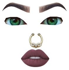 """""""Makeup"""" by riahn-comte247 on Polyvore featuring Lime Crime"""