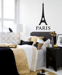 Vinyl Wall Sticker Decal Art  I Dream of Paris by urbanwalls, $30.00