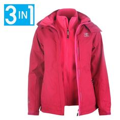 Karrimor 3 in 1 jacket sports direct