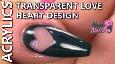 How to create a Transparent Love Heart Design