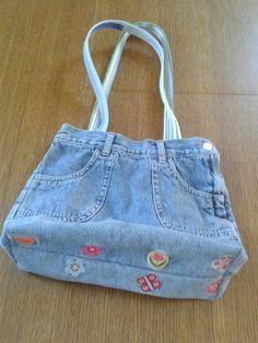 Jeans Rock, Denim Bag, Sewing Patterns, Scrappy Quilts, Fabric Purses, Cowboys, Sacks, Bags, Dressmaking