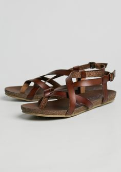 Granola Strappy Sandals By Blowfish