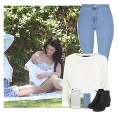 """Picnic"" by jaisgirlfriend ❤ liked on Polyvore featuring Glamorous and Topshop"