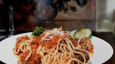 Italian Dishes, Italian Recipes, My Favorite Food, Favorite Recipes, Vegetarian Spaghetti, Vegan Vegetarian, Organic Recipes, Ethnic Recipes, Clean Eating