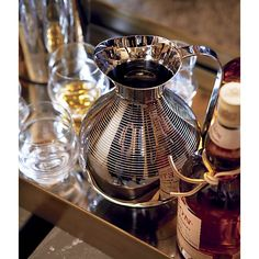 Gatsby Pitcher in Pitchers & Decanters | Crate and Barrel