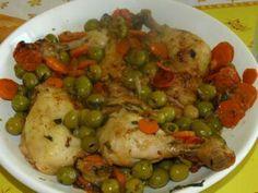 Poulet aux olives♥