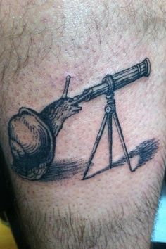 I have no idea why, but I love this! Tattoo by Brucius