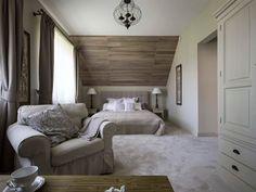 Znalezione obrazy dla zapytania duża sypialnia na poddaszu