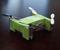 A few months back, my friend, Kevin, came up with the brilliant idea of melding the art of papercraft with his newfound interest in quadcopters. Natur...