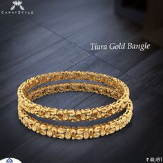 We care what we give; quality last forever. #gold #bangle #goldbangles #banglesonlineshopping #broadbangles #banglesonline #buybanglesonline #women #india #shopping