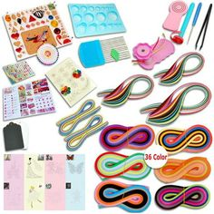 Free Shipping Worldwide. Paper Quilling Beginner's Set $58.18 Package includes: - Quilling Papers - Quilling Tools - Quilling Molds Click Add To Cart Button To Buy This! Please Allow 3-5 Weeks for Del