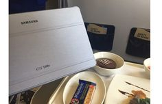 Samsung Takes to the Skies with In-flight Entertainment Magnifying Glass, March, Samsung, Entertainment, Sky, Heaven, Mac