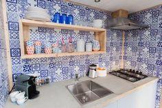 Kitchen ocean lodge #stoerbuiten
